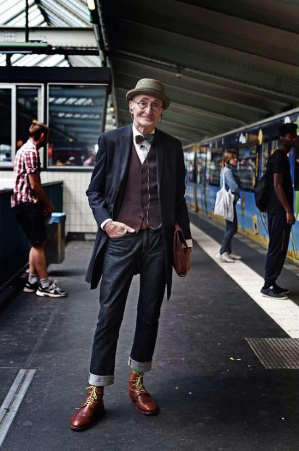 Гюнтер Краббенхефт – самий стильний пенсіонер Берліна (15 фото)