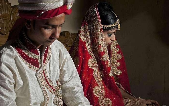 Типова весілля в Бангладеші (14 фото)