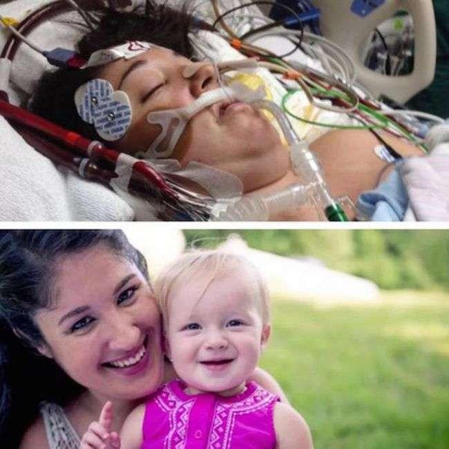 Новонароджений малюк вивів маму з коми (5 фото)