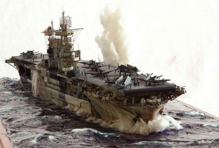 Дивно реалістичні моделі кораблів (31 фото)