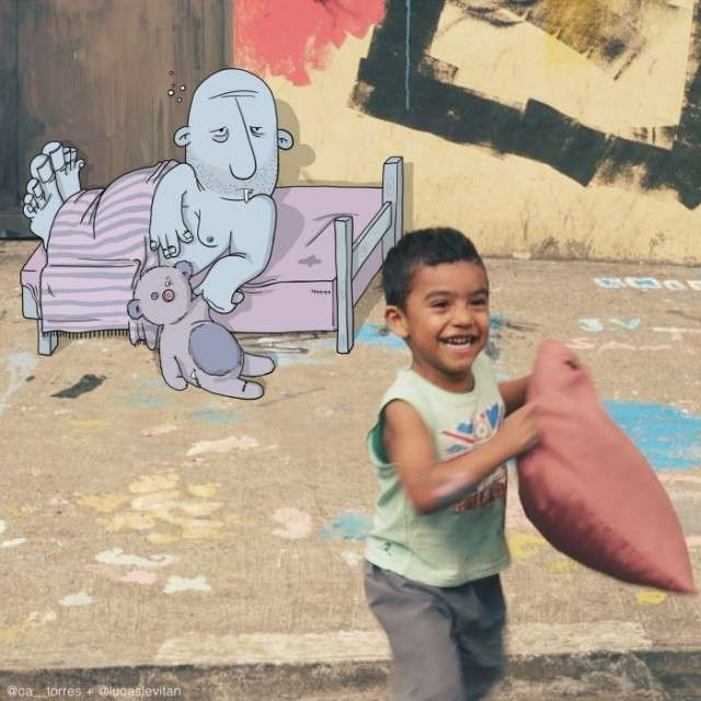 Забавні істоти Лукаса Левітана на фото з Instagram (40 фото)