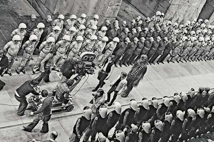 Фотографії зі знімальних майданчиків відомих голлівудських фільмів (30 фото)
