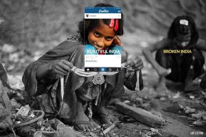 Разючі контрасти Індії в цікавому фотопроекті (8 фото)
