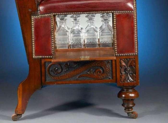 Сюрпризні крісло для справжніх джентльменів (5 фото)