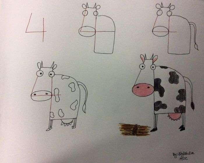 Як за допомогою цифр прищепити дитині любов до математики і малювання (20 картинок)