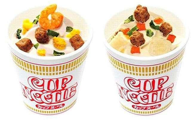 В Японії зявилося морозиво з креветками, яловичиною і яйцем (4 фото)