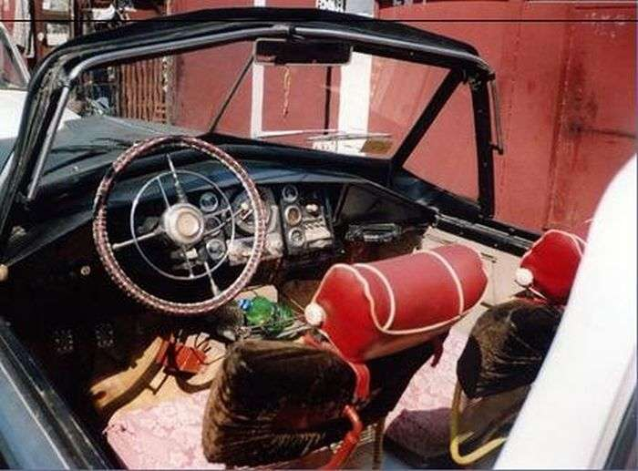 Унікальний кабріолет новокузнецького пенсіонера (11 фото)