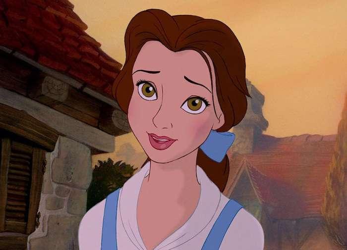 Принцеси диснеївських мультфільмів без макіяжу (16 картинок)