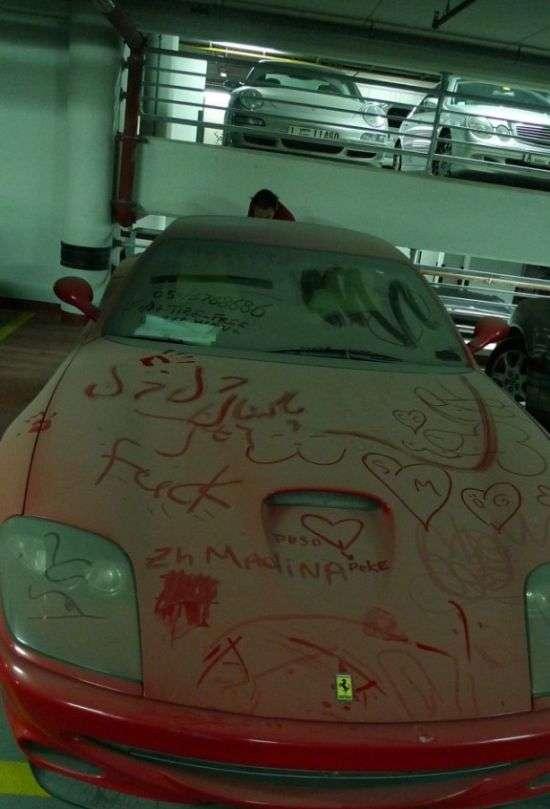 Трохи про покинутих суперкарах Дубая (5 фото)