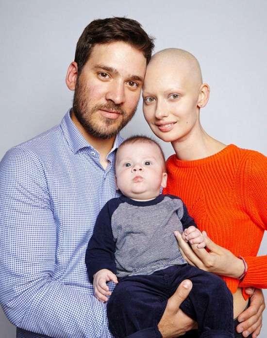 Хвора на рак дівчина народила дитину, незважаючи на рекомендації лікарів (13 фото)