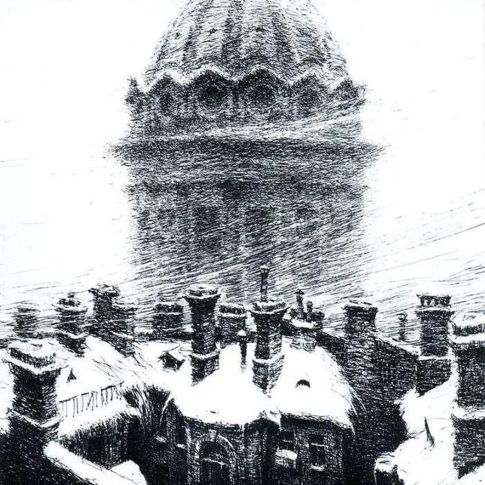 Картини Євгена Ухналева, автора нового герба Росії (18 фото)