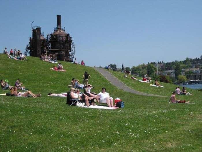 Як старий завод став популярним міським парком (7 фото)