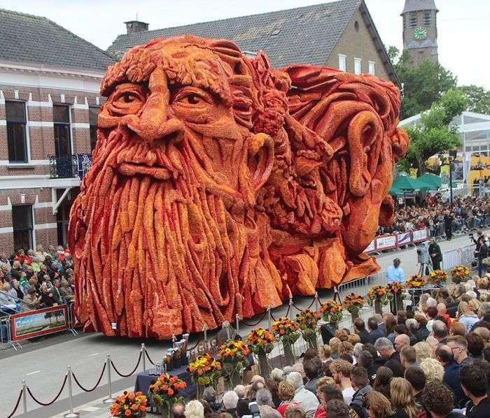У голландському місті Зюндерт пройшов традиційний парад квітів (14 фото)