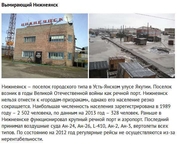 Міста-привиди Росії (10 фото)