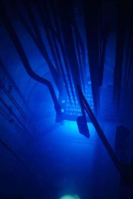 Ефект Вавілова — Черенкова в ядерних реакторах (6 фото)