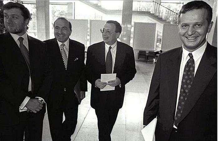 Російські знаменитості в 90-е (25 фото)