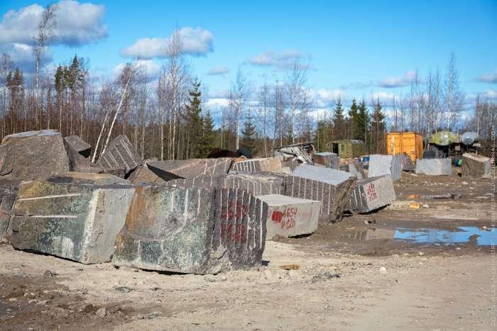 Видобуток граніту в сучасній Росії (23 фото)