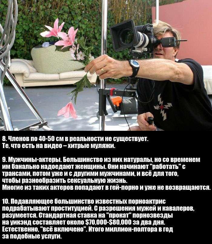 Цікаві факти про порно, розказані оператором і фотографом (3 фото)