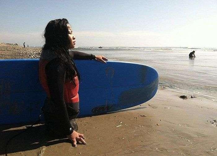 Канья Сессер – дівчина без ніг, стала спортсменкою і моделлю (11 фото)