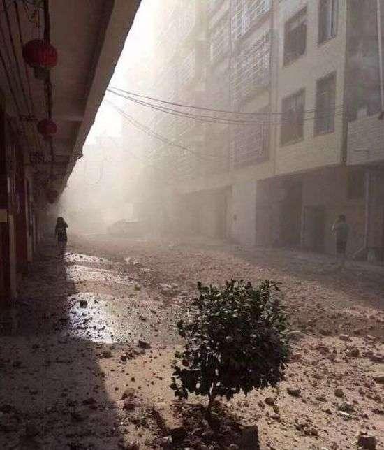 У Китаї вибухнули 17 бомб, які перебували всередині посилок (13 фото)
