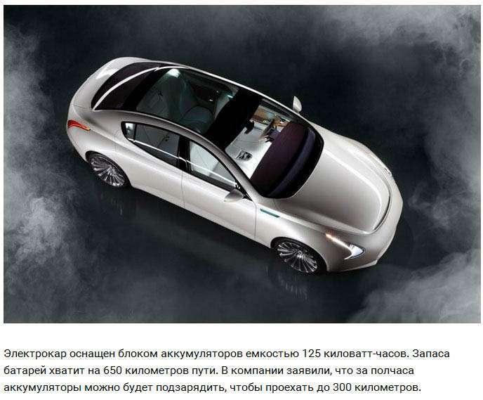 У Франкфурті показали прямих конкурентів електрокару Tesla Model S (14 фото)