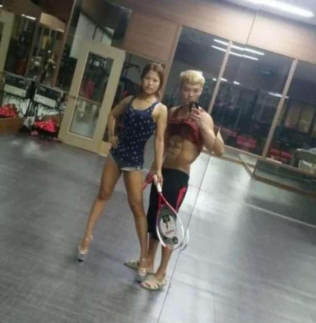 Нереальна трансформація молодий корейської пари (5 фото)
