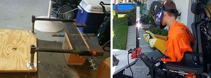 Студент-інвалід перетворив інвалідне крісло в баггі з «Божевільного Макса» (8 фото)