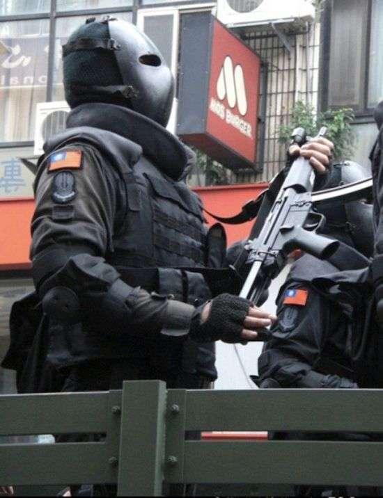 Балістична маска бійців спецназу (5 фото)
