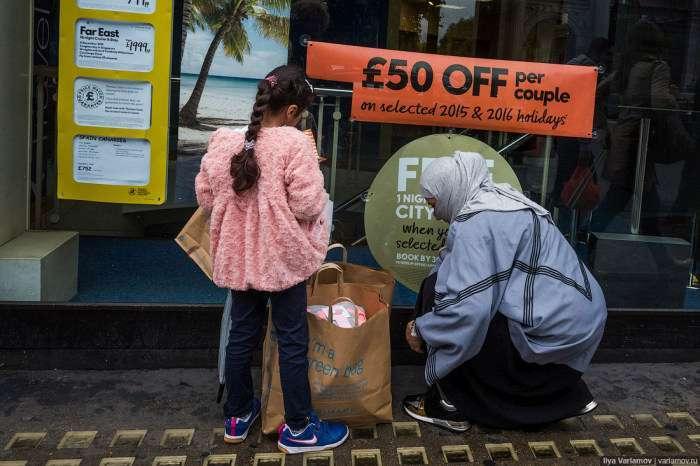Мігранти в Лондоні (43 фото)