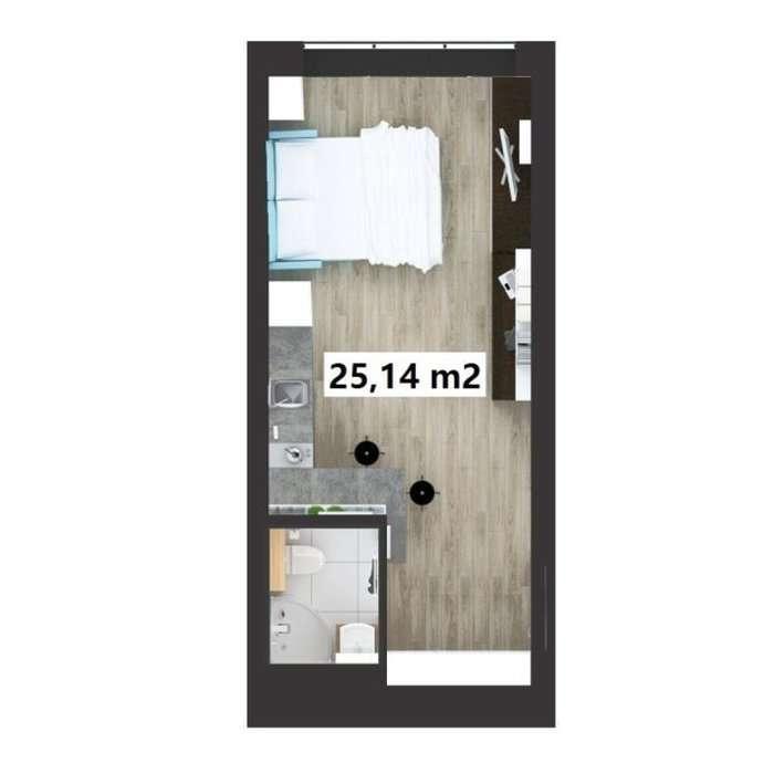 Микроквартиры в Польщі обійдуться в 30 – 80 тисяч євро (10 фото)