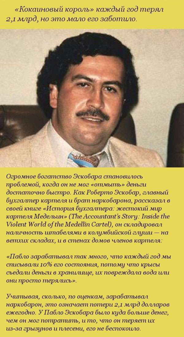 Неймовірні факти про багатство наркобарона Пабло Ескобара (10 фото)