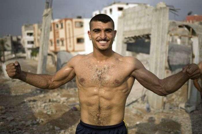 Любителі воркаута з Палестини (17 фото)