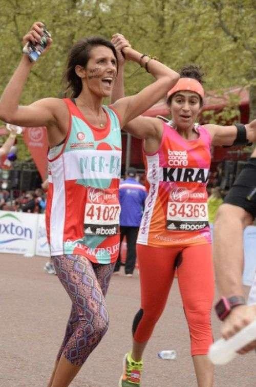 Британка взяла участь у марафоні під час місячних, не використовуючи гігієнічних засобів (6 фото)