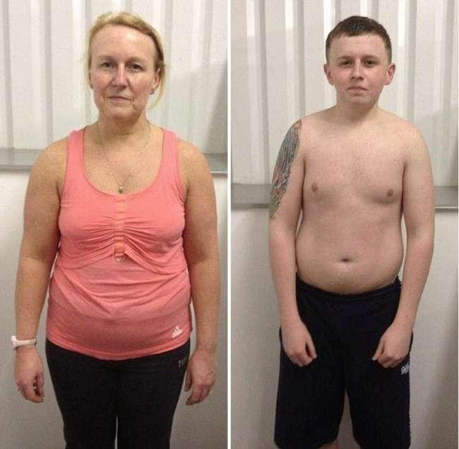 Чудове перетворення мами і сина (8 фото)