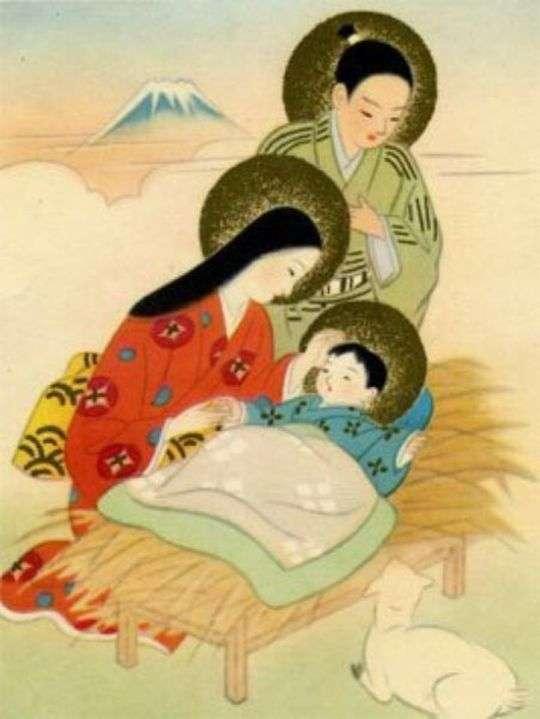 Християнське іконописання в Японії (5 фото)