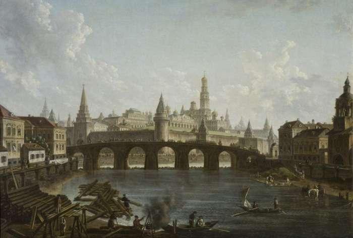 Як змінилися різні міста на відомих картинах протягом століть (38 фото)