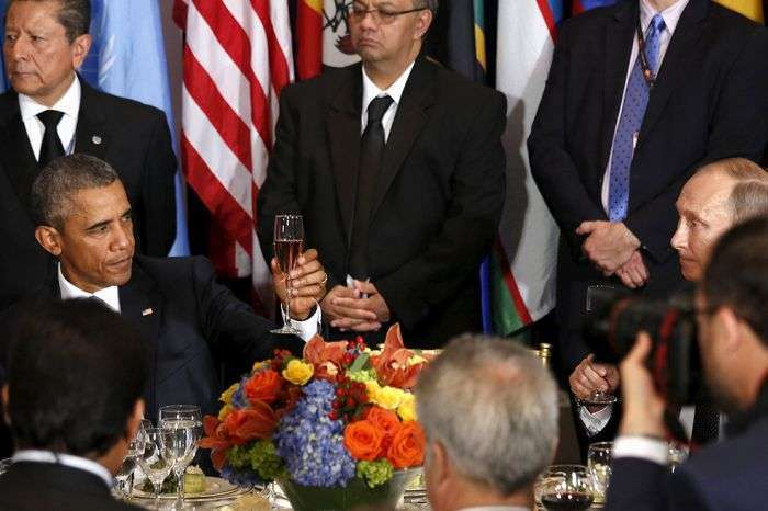 Зустріч Путіна і Обами виявилася «дуже корисною і відвертою» (6 фото)