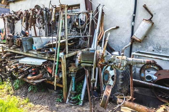 Реставратор Едгар Гасунс і його колекція ретромобілів (25 фото)