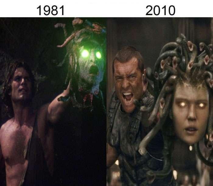 Як змінюються герої фільмів в результаті ремейків і перезапусків (19 фото)