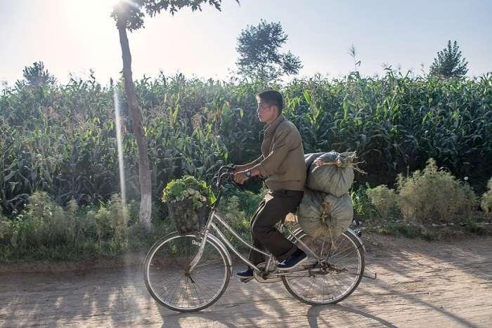 Нові знімки про життя простих громадян Північної Кореї (14 фото)