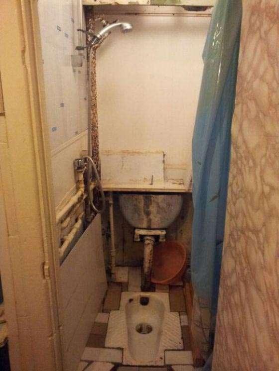 Незвичайне рішення на знімній квартирі (2 фото)