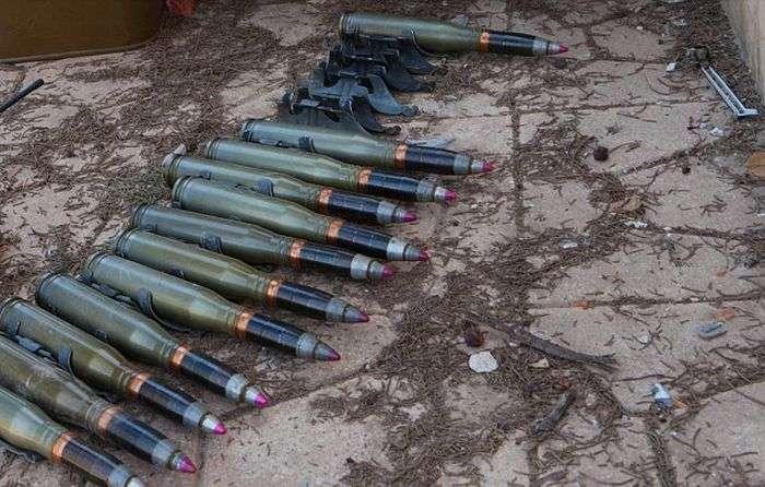 Саморобна крупнокаліберна гвинтівка «Ісламської держави» (2 фото + відео)