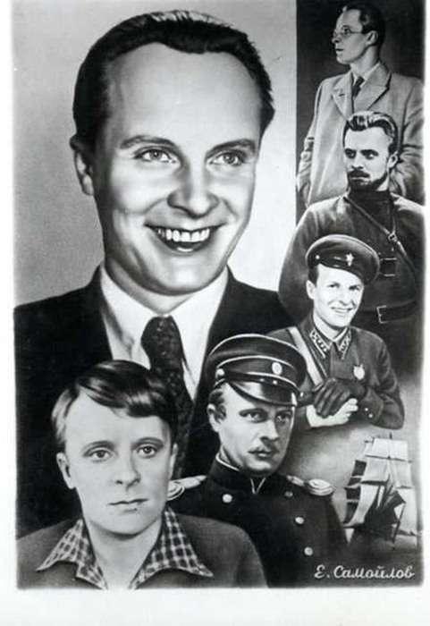 Фото радянських акторів початку 60-х (33 фото)
