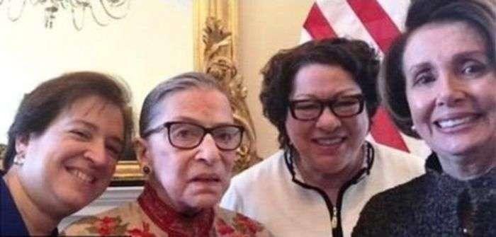 Ось ті самі судді, які дозволили одностатеві шлюби в США (2 фото)