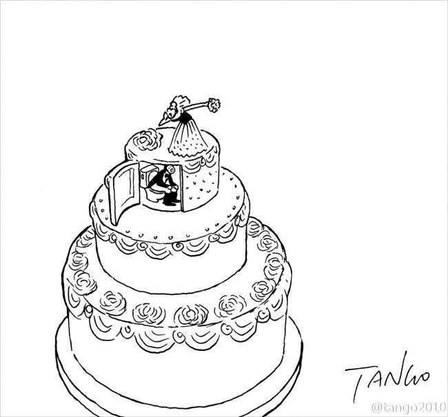 Дотепні комікси від креативного художника Tango (21 картинок)