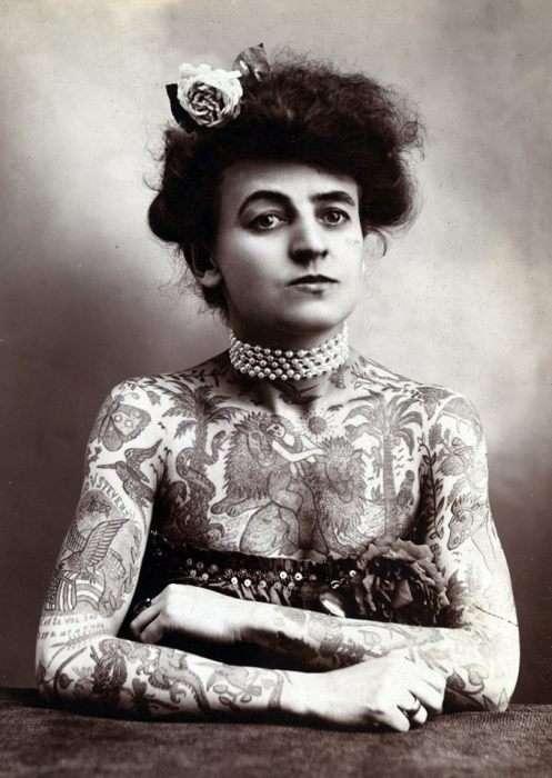 Золотий вік татуювання: 1900 – 1970 роки (30 фото)