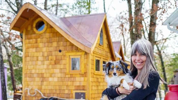 Мініатюрні будинки жителів США (26 фото)
