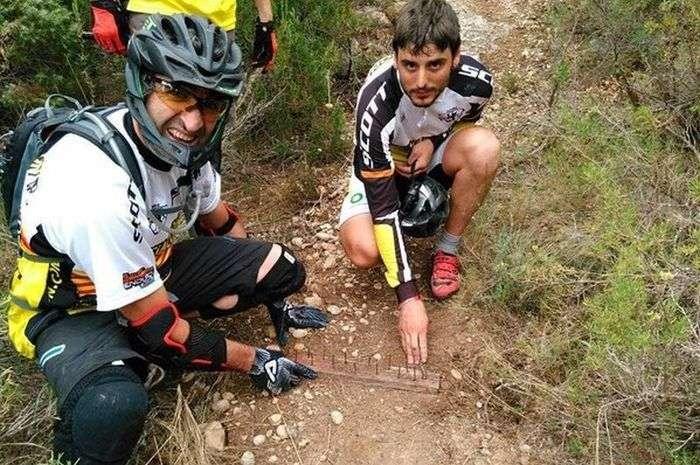 Пастка для велосипедистів (5 фото)