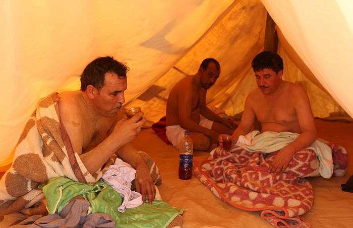 Пісочна ванна – панацея по-єгипетськи (16 фото)