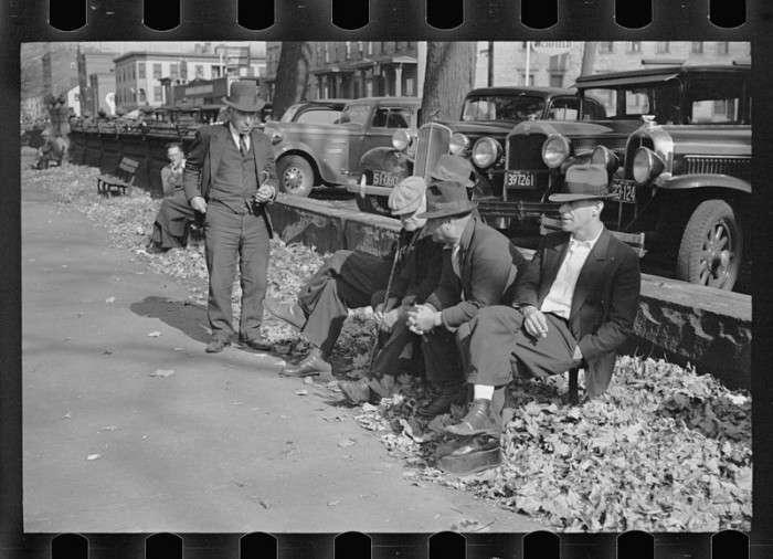 Велика депресія в США (20 фото)